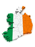 3D Map of Ireland