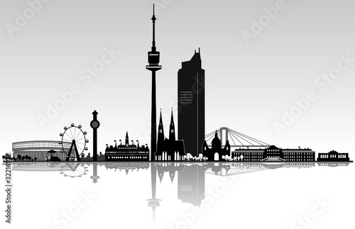 Wien Skyline Architektur