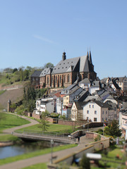 Saarburg, Saarland - Deutschland