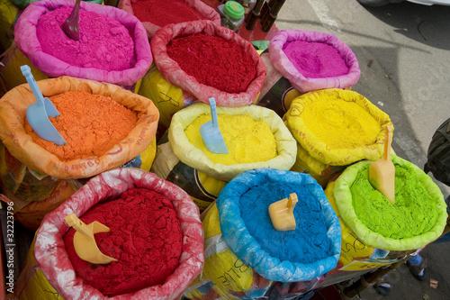 bright Indian colors ,Jaipur, Rajasthan,India