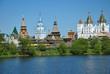 Вернисаж в Измайлово в старинном Русском стиле.