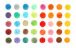 background color of the circles drawn in pencil