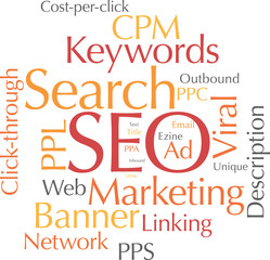 Word cloud SEO