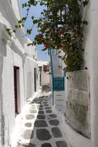 Alley Way Mykonos Greece