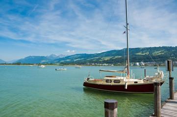 Zürichsee von Insel Ufenau