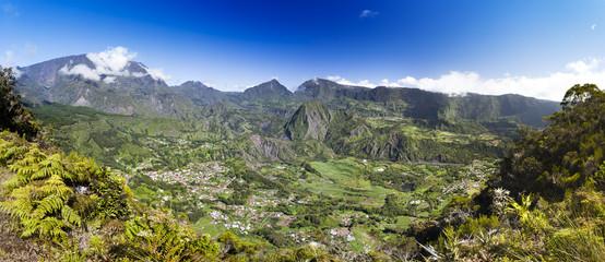 Cirque de Salazie, ile de la Réunion