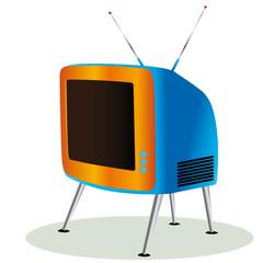 retro vintage tv icon