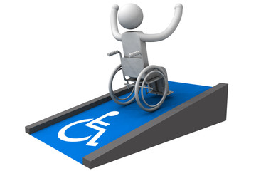 wheelchair triumph