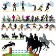 Sport silhouettes set.04