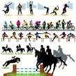 Sport silhouettes set.04