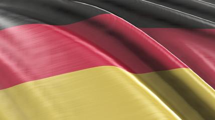Flagge Deutschland High-Quality / High Detail