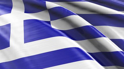 Hellas! Flagge Griechenland