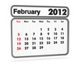 calendar 2012 - february month