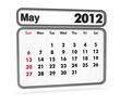 calendar 2012 - may month