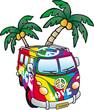 hippies minivan