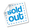 Sold out Marketing Sticker