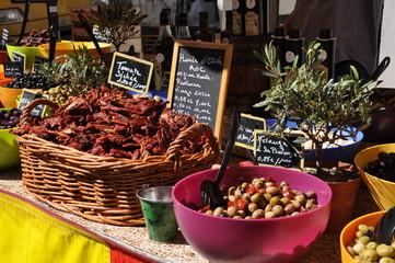 Marktstand Provence