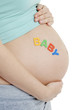 Pregnant tummy  'BABY'