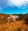 A photo of Beautiful autumn landscapes of New Zealand