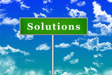 Solutions Sign Board