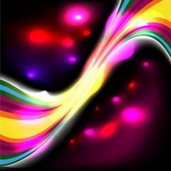 Dark glow background design - 1