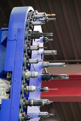 Fräskopf einer CNC Fräsmaschine