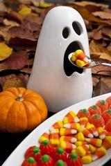 Hungry Halloween Ghost