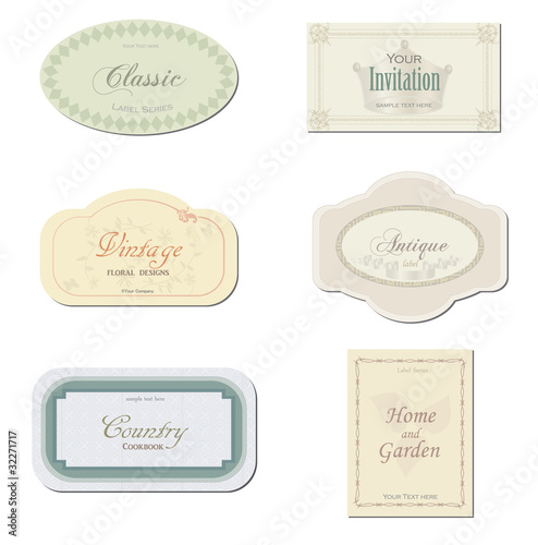 Antique Labels