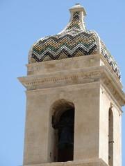 cima del campanile della Chiesa del Rosario a Ragusa Ibla