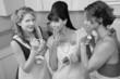 Women Enjoying A Smoke