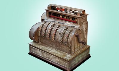 Vintage registratore di cassa