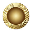 Olive Branch Wreath Gold