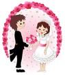 Sposi Coppia Matrimonio-Weddings Married Couple Background
