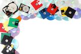 backup technologies background poster