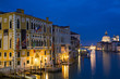 The Grand Canal at the blue hour