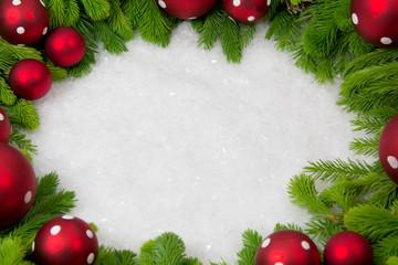 Rahmen weihnachtlich