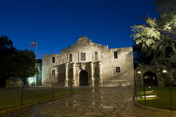 Alamo Morning - wide angle