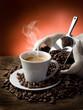 hot  coffee - caffe fumante