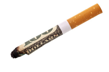 Expenditure for smoking