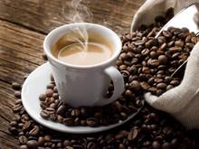 "Постер, картина, фотообои ""hot  coffee - caffe fumante"""