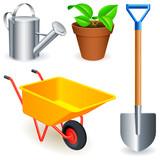 Fototapety Garden tools.