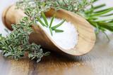 sea salt with herbs