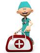 scrubs nurse bag