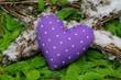 Violettes Herzchen