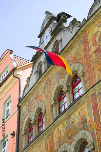 Rathaus in Konstanz, Bodensee, Deutschland