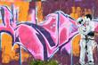 Fototapete Kunst - Lieblich - Graffiti