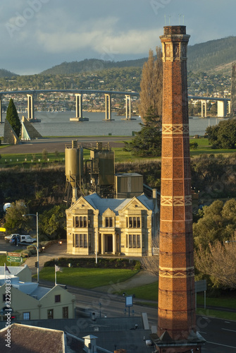 Unique view of Hobart, Tasmania