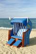 Strandkorb am Meer 392