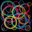 Astract 	spirals and circles # Vector