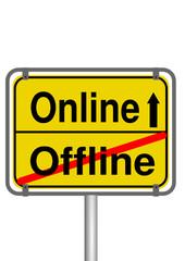Onlineschild